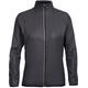 Icebreaker W's Rush Windbreaker Jacket black/embossed